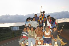 CIUDAD BOLIVAR, VENEZUELA - Maj 12, 2009: Royaltyfri Fotografi