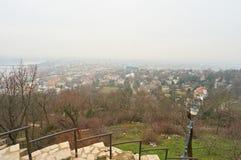 Ciudad Budapest del od del panorama Fotos de archivo libres de regalías