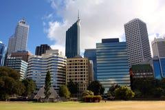 Ciudad Buildiigs Perth imágenes de archivo libres de regalías