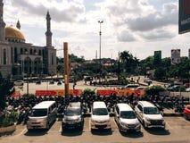 Ciudad caliente Fotos de archivo