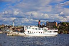 Ciudad central de Estocolmo Foto de archivo libre de regalías