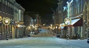 Ciudad central Main Street Imagen de archivo