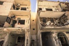 Ciudad cerca del Palmyra en Siria Imagenes de archivo