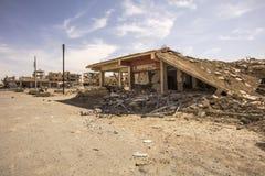 Ciudad cerca del Palmyra en Siria imágenes de archivo libres de regalías