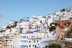 Ciudad Chefchaouen en Marruecos Fotografía de archivo libre de regalías