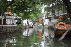 Ciudad China de Tongli imagen de archivo libre de regalías