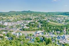 Ciudad climática Gerolstein, Alemania del balneario Fotos de archivo libres de regalías
