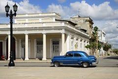 Ciudad colonial de Cienfuegos en Cuba Imagen de archivo libre de regalías