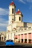 Ciudad colonial de Cienfuegos en Cuba Imágenes de archivo libres de regalías