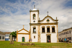 Ciudad colonial e histórica Fotos de archivo