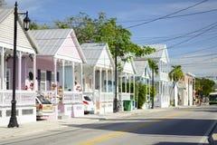 Ciudad costera Key West la Florida fotografía de archivo libre de regalías