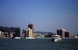 Ciudad costera, Xiamen China Imágenes de archivo libres de regalías