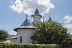 Ciudad cristiana el condado de Vaslui de John Barlad del santo de la iglesia ortodoxa de Rumania Imágenes de archivo libres de regalías