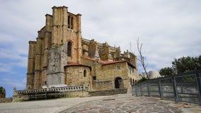 Ciudad de卡斯特罗-乌尔迪亚莱斯,西班牙 免版税库存照片