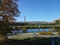 Ciudad de蒙特利尔Canadà ¡ 市蒙特利尔加拿大 库存照片