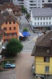 Ciudad de Aarburg en Suiza Imagen de archivo libre de regalías