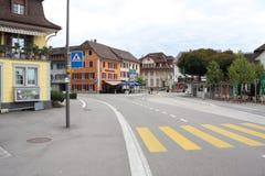 Ciudad de Aarburg en Suiza Foto de archivo