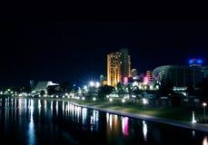 Ciudad de Adelaide Foto de archivo