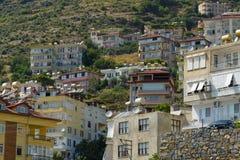 Ciudad de Alanya Imagenes de archivo