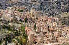 Ciudad de Albarracin Imagen de archivo libre de regalías