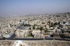 Ciudad de Aleppo Imagen de archivo libre de regalías
