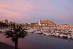 Ciudad de Alicante imagen de archivo