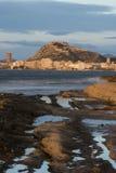 Ciudad de Alicante Fotos de archivo libres de regalías