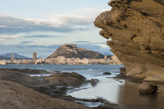 Ciudad de Alicante Fotografía de archivo libre de regalías