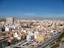 Ciudad de Alicante, España Fotografía de archivo libre de regalías