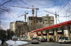 Ciudad de Almaty Fotos de archivo libres de regalías