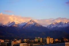 Ciudad de Almaty Imagen de archivo