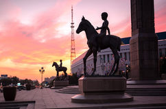 Ciudad de Almaty foto de archivo