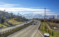 Ciudad de Almaty Fotos de archivo
