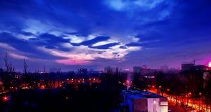 Ciudad de Almaty Fotografía de archivo libre de regalías