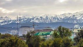 Ciudad de Almaty almacen de metraje de vídeo