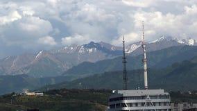 Ciudad de Almaty almacen de video