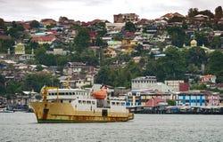 Ciudad de Ambon, isla de Ambon, Indonesia imagenes de archivo