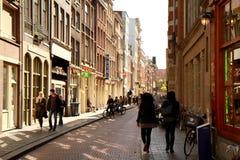Ciudad de Amsterdam Foto de archivo