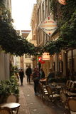 Ciudad de Amsterdam Foto de archivo libre de regalías