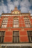Ciudad de Amsterdam Fotografía de archivo libre de regalías