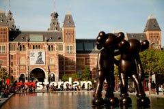 Ciudad de Amsterdam Fotos de archivo