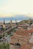 Ciudad de Antalya Kaleici Foto de archivo