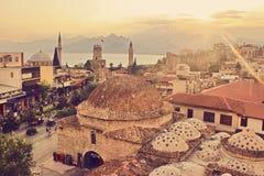 Ciudad de Antalya Kaleici Fotografía de archivo