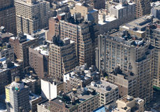 Ciudad de arriba Fotografía de archivo libre de regalías