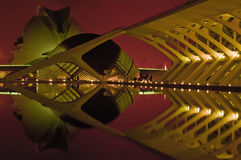 Ciudad de artes y de ciencias Imagen de archivo