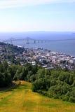 Ciudad de Astoria Oregon imágenes de archivo libres de regalías