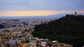 Ciudad de Atena Grecia Imagen de archivo