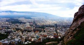 Ciudad de Atena Grecia Foto de archivo
