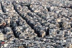 Ciudad de Atenas Foto de archivo libre de regalías