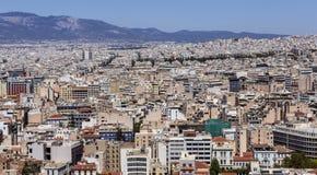 Ciudad de Atenas Imágenes de archivo libres de regalías